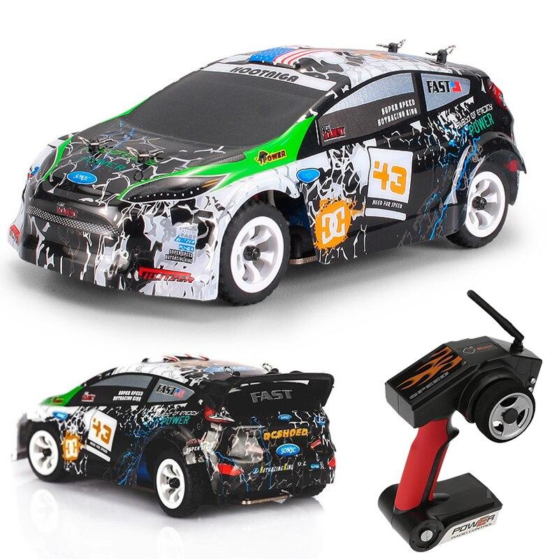 Voiture RC haute vitesse 1:28 2.4G voiture de course télécommandée 4WD 30 km/h véhicules de voiture électrique jouet modèle voiture cadeaux pour garçons