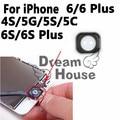 10 unids caliente para iphone 4s 5 5g 5S 5c 6 s 6 s 6 s Plus 6 Más El Botón de Inicio Junta De Goma Pegamento Adhesivo Pegatina Reemplazo Holder partes
