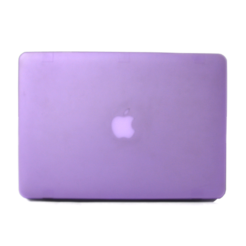 For Apple Macbook Air 11 13 Pro Retina 12 13.3 15 inch Bags laptop Case+Keyboard Cover+Screen Protector Matte - Purple