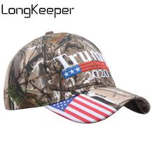Make America Great Again Donald Trump 2020 Cap New Camouflage Letter Embroidery Snapback Camo USA Flag Adjustable Hats