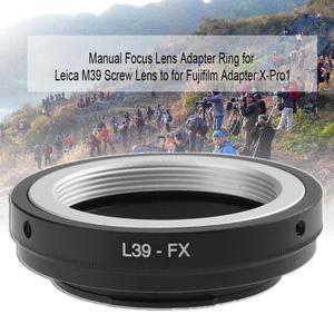 Image 5 - L39 FX كاميرا محول العدسة ل LEICA M39 المسمار عدسة ل Fujifilm X Pro1 كاميرا محول العدسة عدسات تركيز محول العدسة اليدوي الدائري