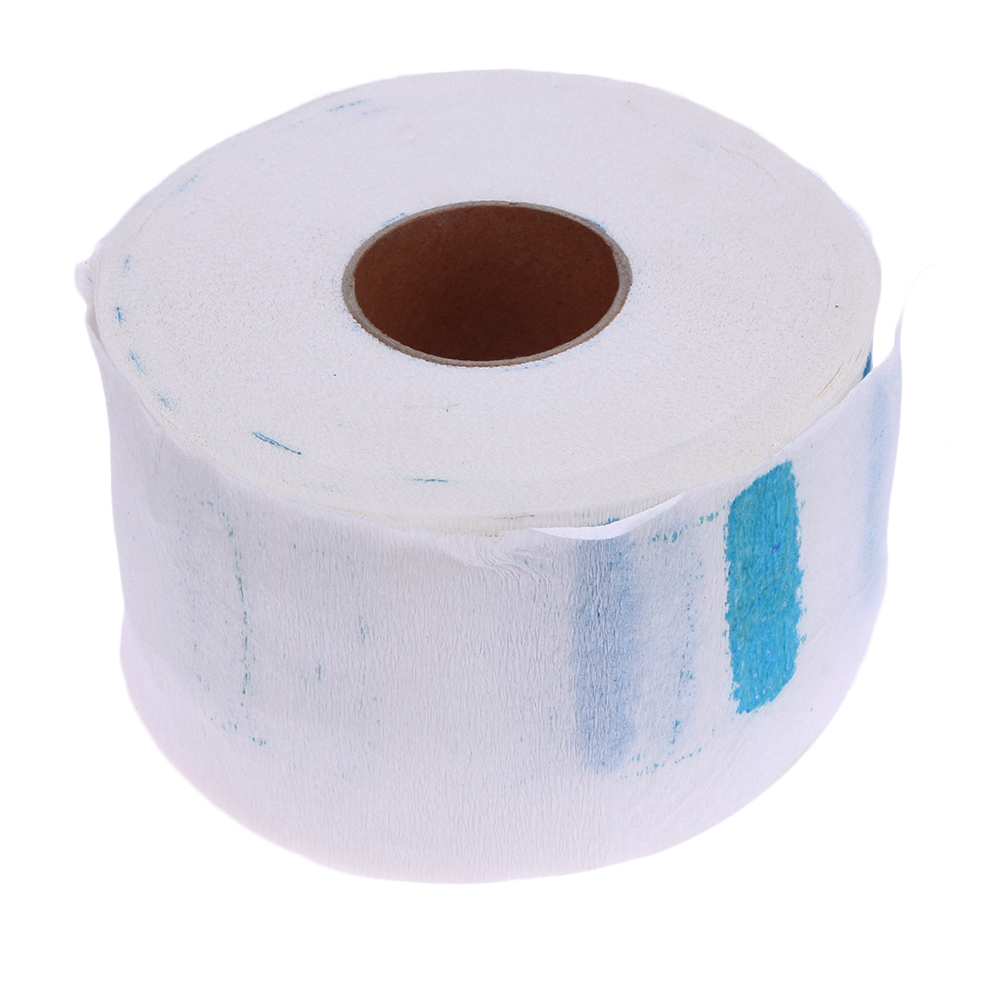 Neck Ruffle Roll Paper Vienkartiniai kaklo popieriaus salonai Plaukų pjovimo priedai Kaklo dangos popieriaus įrankis Salono kirpyklų įrankiai
