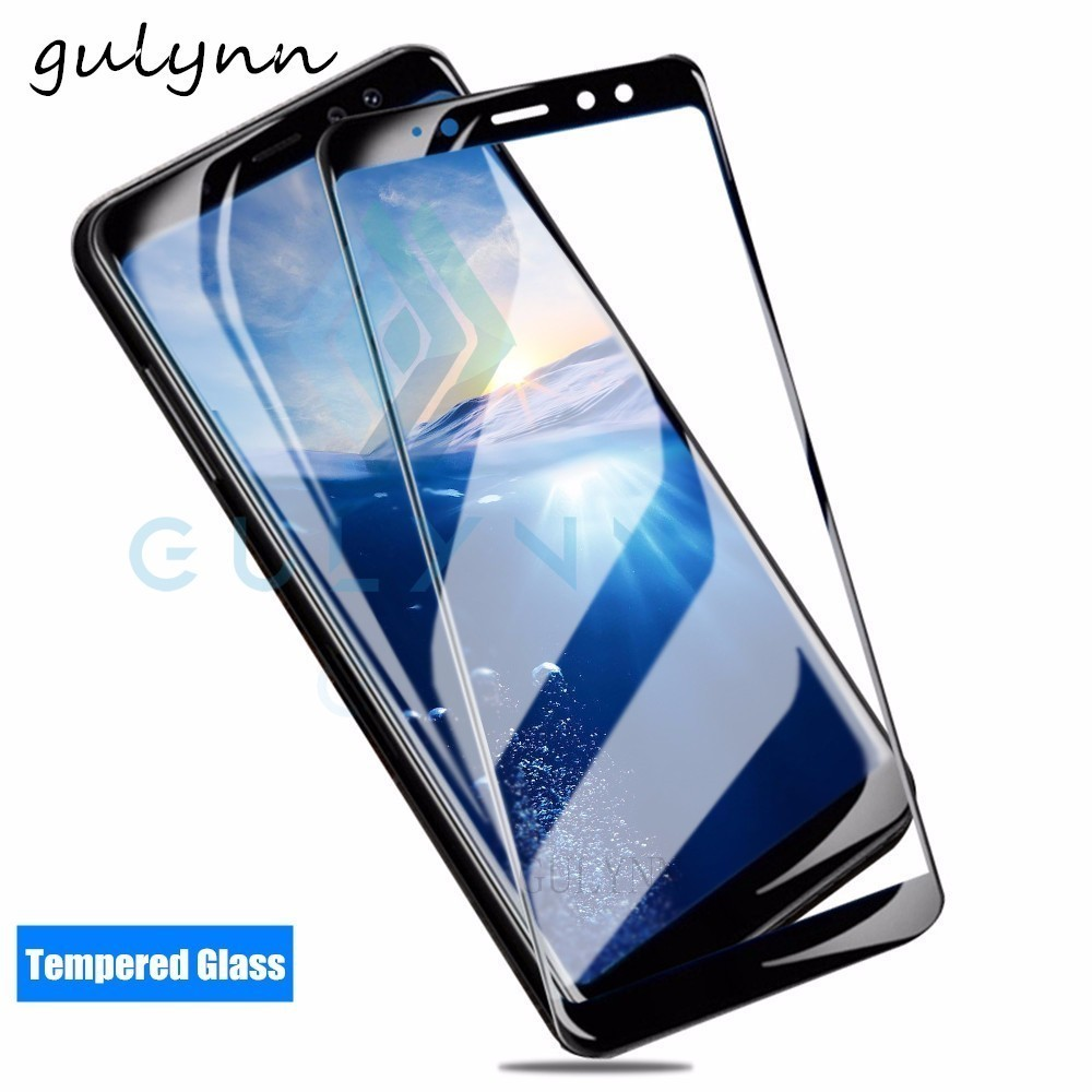 3D Full Cover Tempered <font><b>Glass</b></font> on the For <font><b>Samsung</b></font> Galaxy A6 A8 J3 J4 J5 J6 J7 J8 Prime Plus 2017 <font><b>2018</b></font> Screen Protector Film Cover image