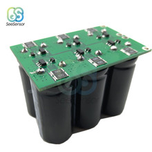 6Pcs Super Farad Capacitor Set 16V 20F 16V 16.6F Double Row Single Row Module with Protection Board Electrolytic Capacitors Kits