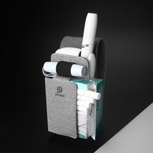 Image 4 - Luxus Leder Tragbare Abdeckung Fall Für IQOS 3 Tasche IQOS 3,0 Multi Schutzhülle Zigarette Fall Abdeckung Für IQOS 3,0 Multi tragetasche