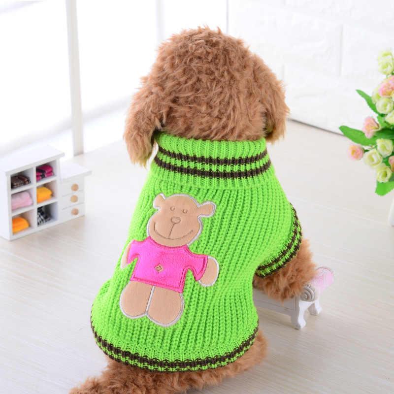 Собака кошачьи свитера джемпер для маленькие собачки Чихуахуа Одежда xxs панель в форме французского бульдога зимние Костюмы одежда для Такс зоотовары E