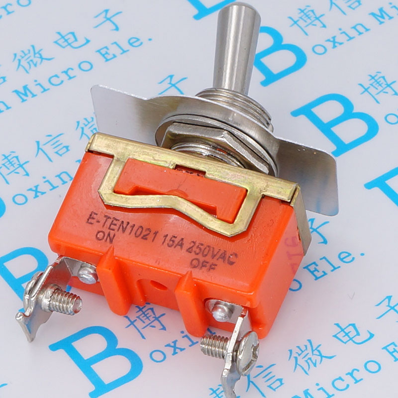 E TEN1021 toggle switch Shake head rocker switch 2 feet 2 15 a 250 v