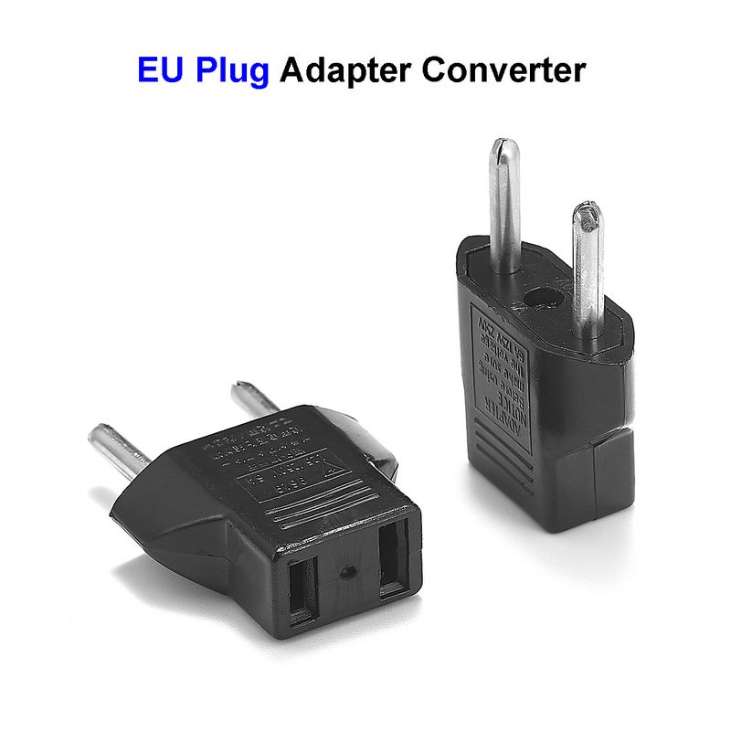 European EU German Plug Adapter US JP American China To Europe Euro Travel Power Adapter Plug Outlet Converter Socket 2016 south africa travel adapter type m large 15 amp bs 546 2 port multi outlet black color 1 to 2 eu au usa plug 15a