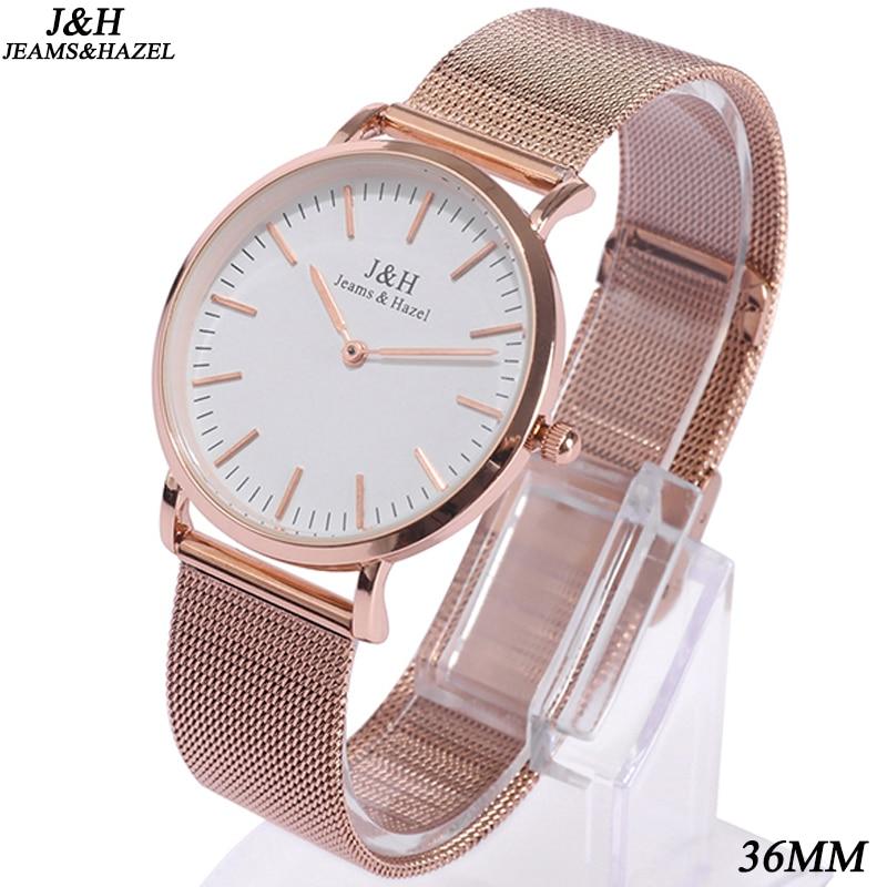 Ocelový pásek Pánské křemenné hodinky JH Top Kauzální - Pánské hodinky