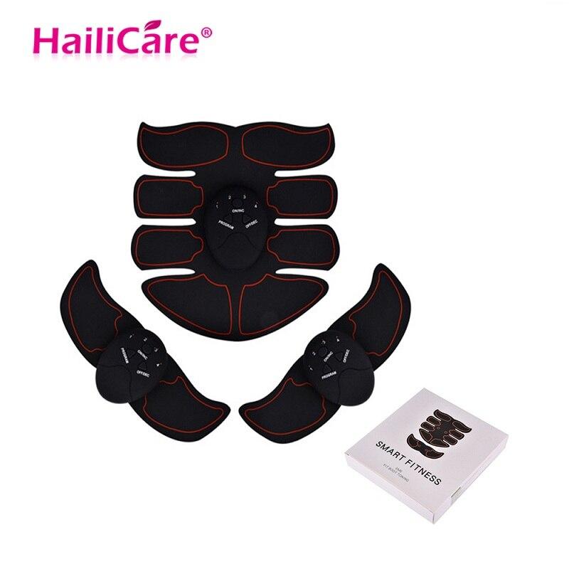 EMS Estimulador Sem Fio Dispositivo de Treinamento Muscular Abdominal Ginásio Cinto Slimming Massager Do Corpo Profissional Home Fitness Equipamentos de Beleza