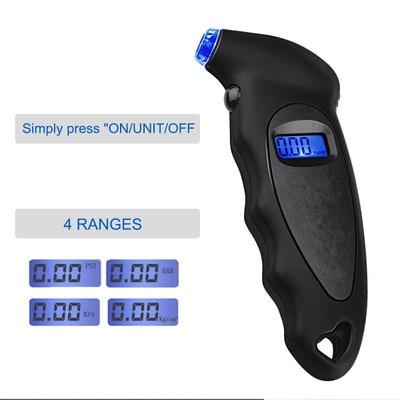 Tire pressure alarm Digital Car Tire Pressure Gauge Meter18