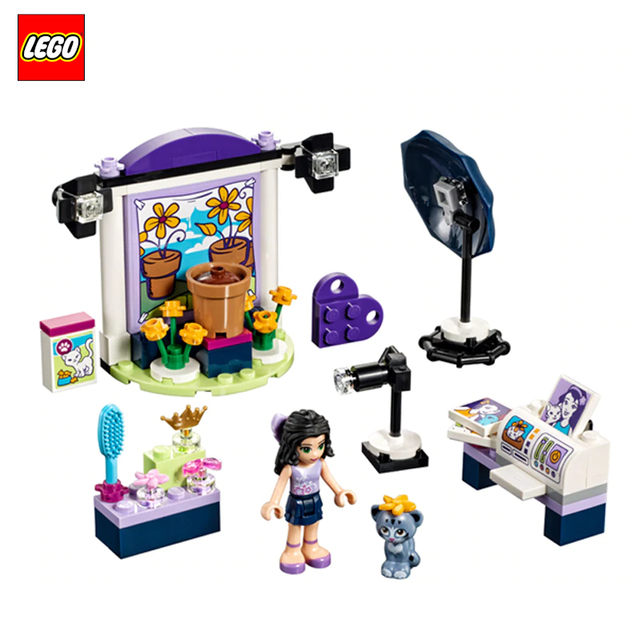 Конструктор LEGO Friends Фотостудия Эммы 41305-L