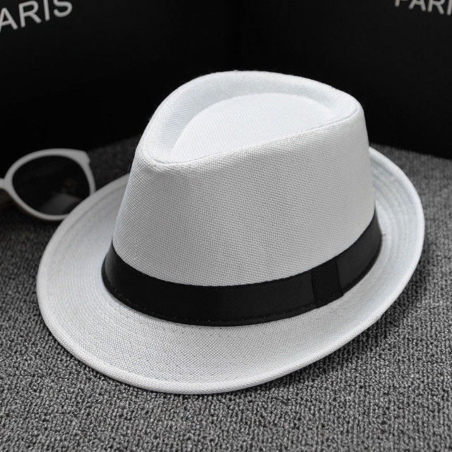 2018 New Unisex Straw Fedora Sun Hat Panama Trilby Crushable Mens Ladies Foldable Travel
