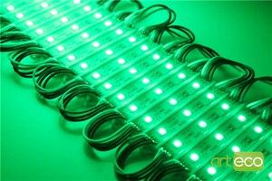 Image 4 - 100 יח\חבילה DC12V 5050 3 נוריות LED מודול 5050 RGB LED מודול אור RGB IP65 עמיד למים