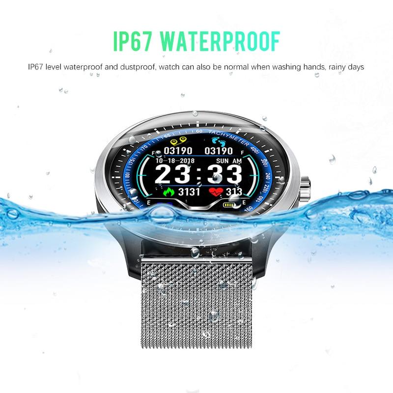 Sovawin SH N58 Smart Watch Waterproof Men Blood Pressure Sport Smart Watch Bluetooth Heart Rate Tracker for Xiaomi for Samsung - 5