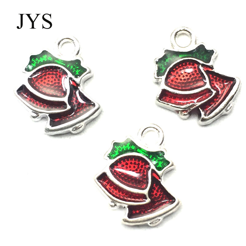 FREE SHIPPING 13MM 12PCS/LOT ZINC ALLOY CHARMS METAL CHARMS JINGLE BELLS CHAMRS FOR JEWELRY FINDING FOR NECKLACE BRACELET