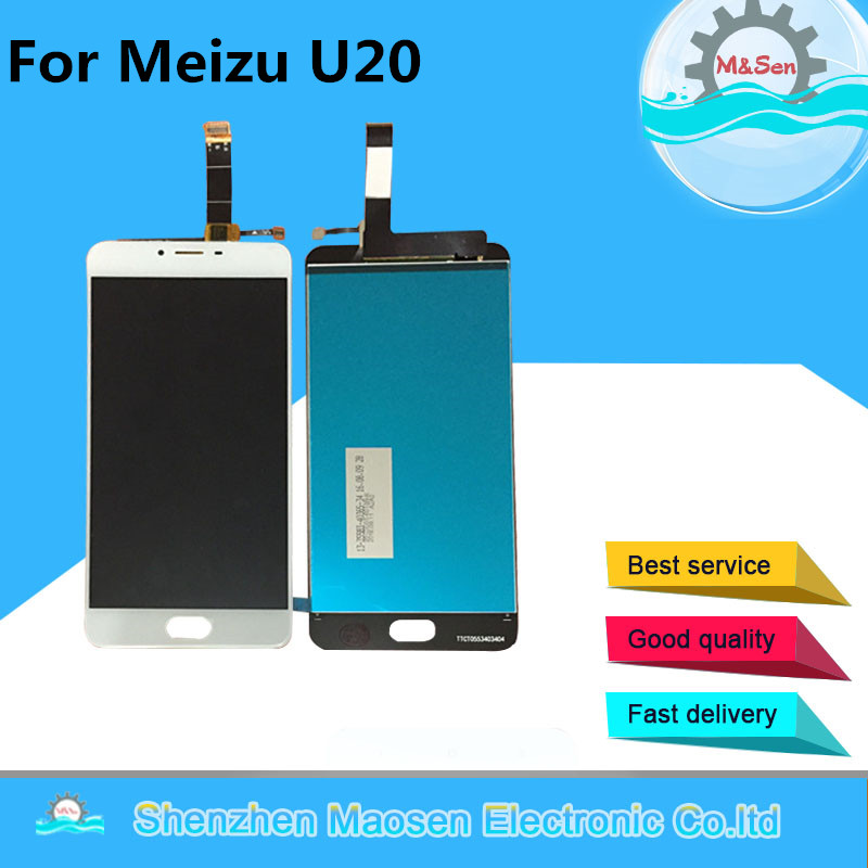 LCD Screen Display Touch Panel Digitizer For 5 5 Meizu U20 White Or Black Color Free