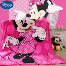 Verano de 2019 manta nueva Mickey Minnie tren suave franela de dibujos animados para los niños en sofá cama sofá niños manta de lana