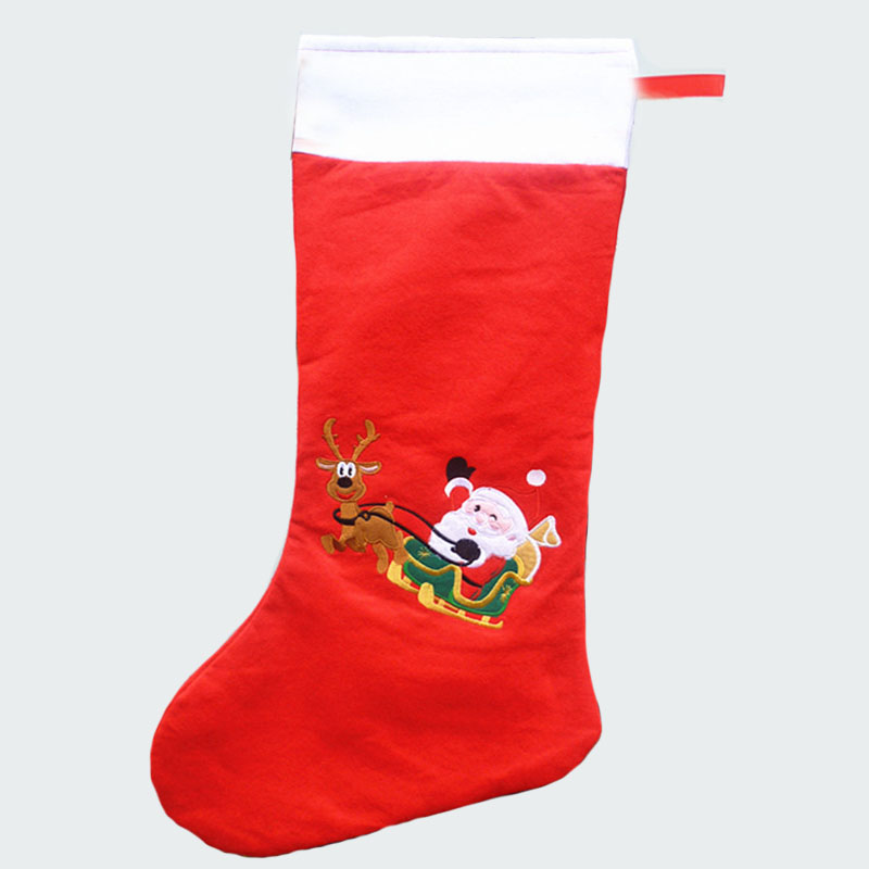74cm length large christmas stockings with santa claus and ...