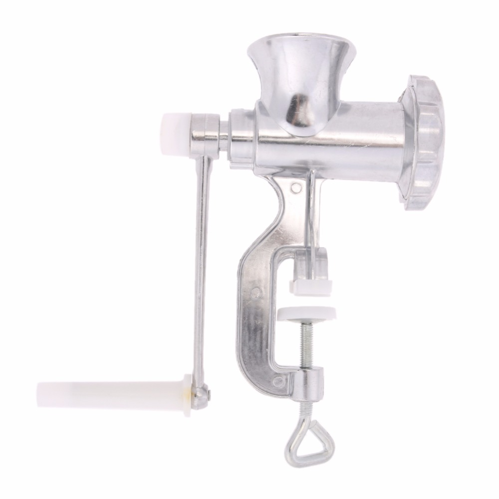 Aluminum Alloy Meat Grinder Mincer Table Hand Crank Tool Manual Meat Grinders for Kitchen Pasta Tool