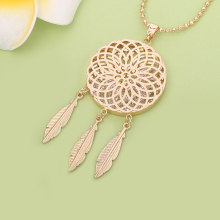 Dream Catcher Crystal in Locket Pendant Jewelry