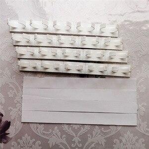 Image 5 - 4 strati di Spezie Rack Organizzatore Armadio a Muro Porta Appeso Barattoli di Spezie Clip Ganci Set Di Immagazzinaggio Del Supporto Pinza Accessori Per la Cucina