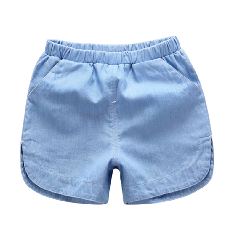 DZIECKO Baby Boys Clothing Kids Summer Shorts 2018 New Fashion Loose Denim Short Pants Cotton Casual Boys Clothes Outfit For 2-8