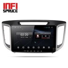 Android 7,1 автомобильный dvd для hyundai creta ix25 2014-2017 с восемью ядрами Радио Стерео gps-навигация стерео медиаплеера