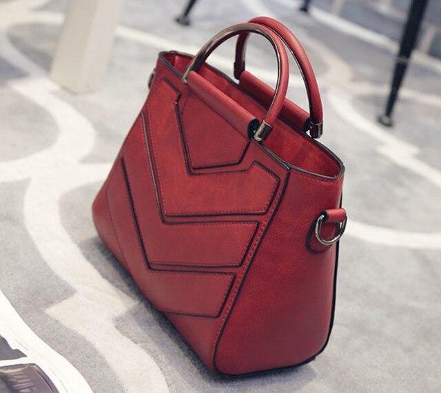 2017 new Fashion High Quality Women Messenger Bag Medium Women Tote Bag Leather Women Handbag Fashion Women Shoulder Bag