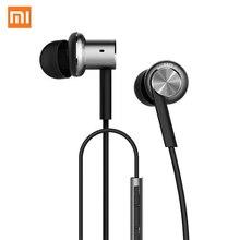 Оригинал Сяо Mi Гибридный Pro HD наушники круг гладить проводной earset Шум отмена Ми-вкладыши гарнитура для Mi6 Fone де ouvido