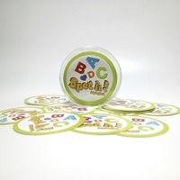 2017 New Spot It With Box Hip Gone Camping For The Family Gathering Imported Paper Dobble