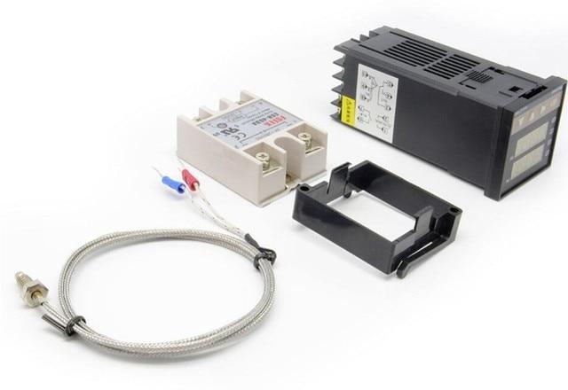 Dijital PID sıcaklık kumandası Termostat REX C100