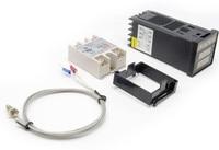 Free Shipping Digital PID Temperature Controller Thermostat REX C100 Max 40DA SSR Relay K Thermocouple Probe