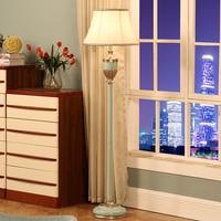 Светодио дный E27 Nordic ретро смолы ткань светодио дный лампа светодио дный свет светодио дный торшер свет для фойе столовая Спальня 3 цвета выб
