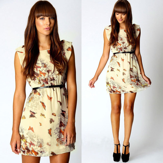 Top 2014 New Women Summer Dress Fashion Women Clothing Star Models  DG04
