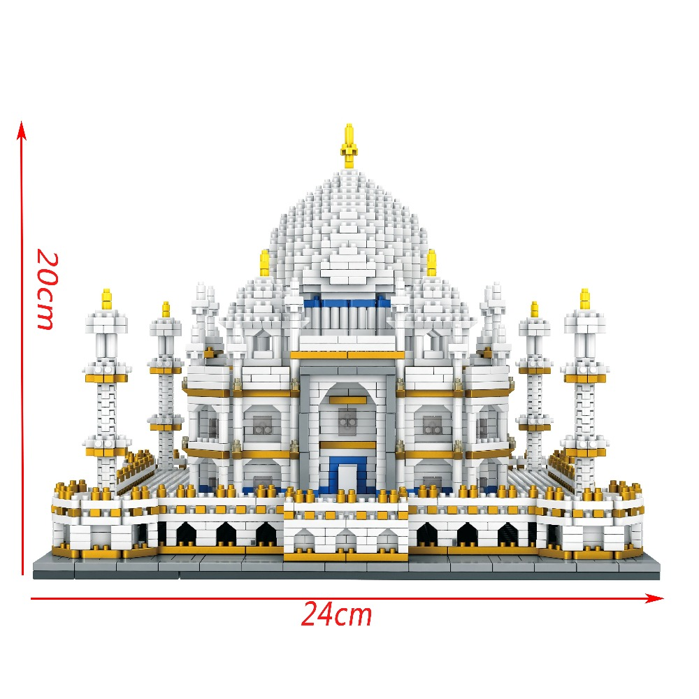 Legoing-Building-Bricks-City-Architecture-Legois-Landmarks-Taj-Mahal-Palace-3D-Model-Children-s-Educational-Toy