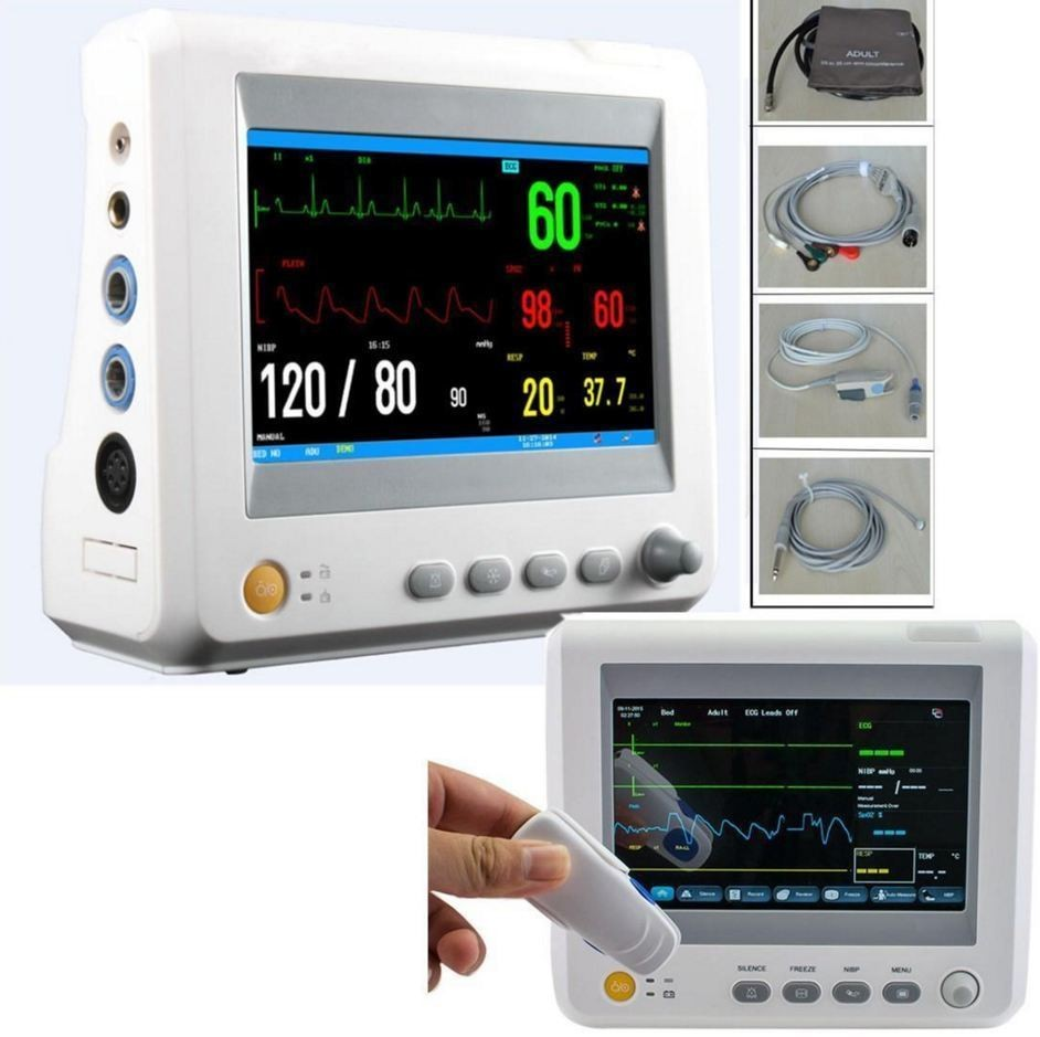 Image 5 - TUV&CE,Sending by DHL,Accessories Completely,7inBlood Pressure ICU Modular Patient Monitor parameter NIBP,S-in Blood Pressure from Beauty & Health