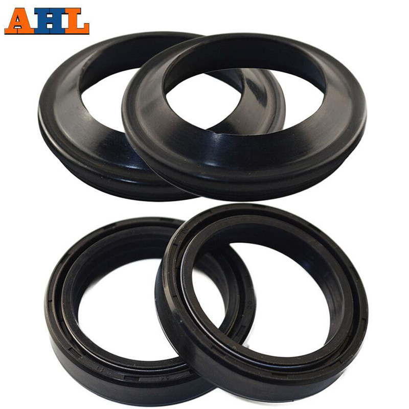 AHL 30x40.5x10.5 30 40.5 Motorcycle Front Fork Damper Oil Seal & Dust Seal For Suzuki DS100 RV125 TM125 TS125 1971-1977 TS185