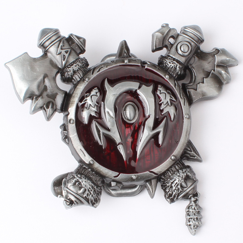 Game Theme Belt Buckle