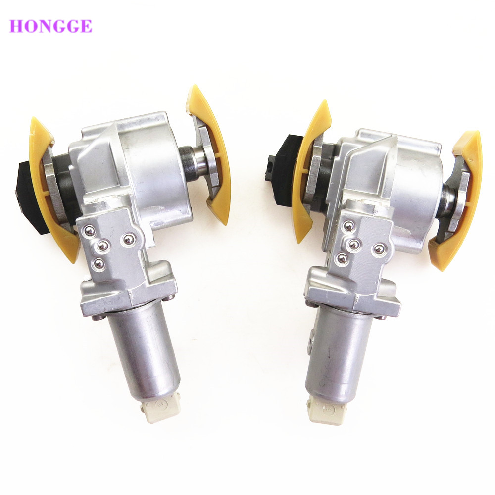 HONGGE 1 pair 2.7 2.8 V6 Camshaft Timing Chain Tensioner For VW Passat B5 A4 A6 078 109 087C 078 109 088C 078109087C 078109088C a style 1 8l 1 8t camshaft timing chain tensioner for vw passat b5 jetta golf 4 seat toledo a3 a4 a6 tt 058 109 088 l 058109088l