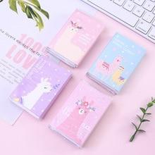 16 pack/lot Colorful Cute Alpaca Memo Pad Sticky Notes Memo Notebook Stationery Papelaria Escolar School Supplies