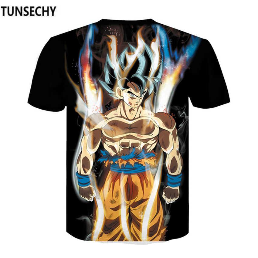 Новая Боевая футболка Dragon Ball Saiyan muscle Goku, быстросохнущая летняя футболка с короткими рукавами для мужчин, футболки, брендовые футболки