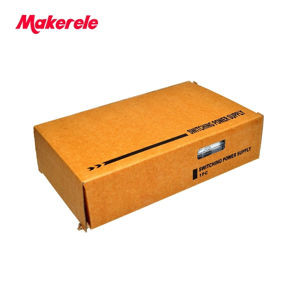 new model 75w dual output D 75B switching power supply new model 5v 24v dual output with 110 220vac input with metal case in Switching Power Supply from Home Improvement