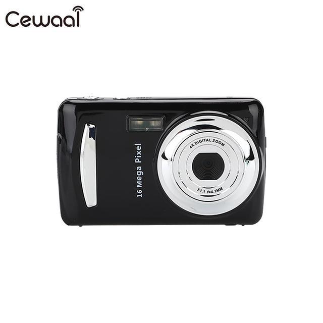 Cewaal Black Ultra Photo Camera 16MP Ultra-clear HD Digital Camera DVR 1080P Mini HD Camera Precise Video Recorder Camera DVR
