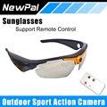 Esporte HD Óculos De Sol Câmera 1.2 Mega 1080 P Mini Câmera para ação esporte ao ar livre dv câmera de vídeo gravador de voz suporte tf cartão
