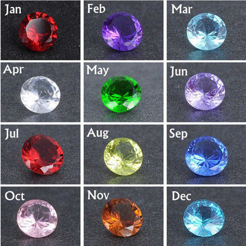 Envío Gratis, nuevas llegadas DIY, 12 colores, piedras de nacimiento redondas, cambiar piedras de circón, anillos de acero inoxidable, anillo de boda