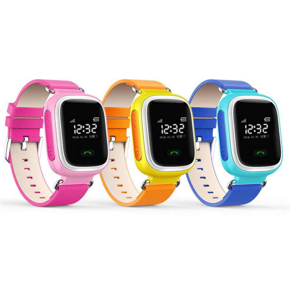 New Arrival Kids GPS Q60 Smart Watch Wristwatch SOS Call Location Finder Locator Device Tracker Children Safe Anti Lost Monitor