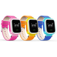 New Arrival Kids GPS Q60 Smart Watch Wristwatch SOS Call Location Finder Locator Device Tracker Children