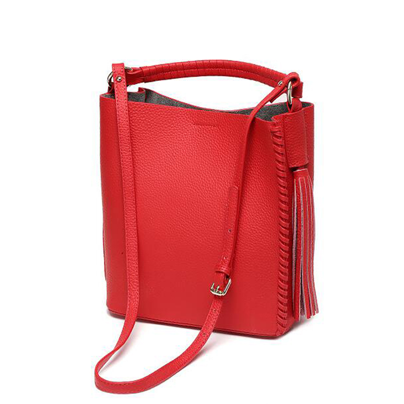 ФОТО summer new lady bag leather shoulder bags fashion tassel woman bag designer cow leather handbag bolsos mujer bandolera