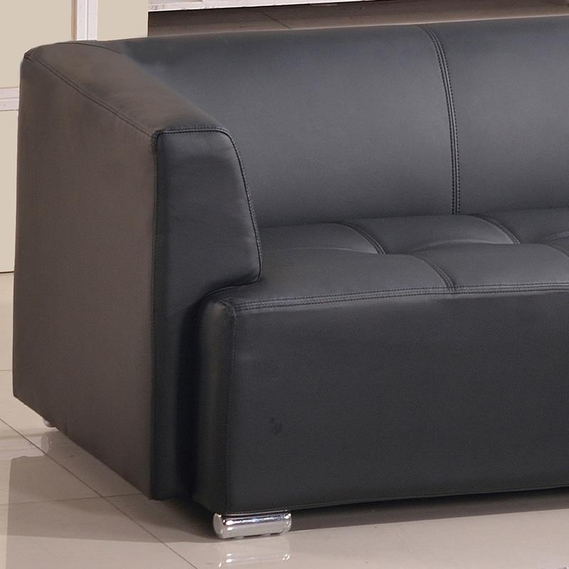 Leren Moderne Bank.Grote Leren Bank Moderne Sofa Minimalistische Kantoor Kantoor